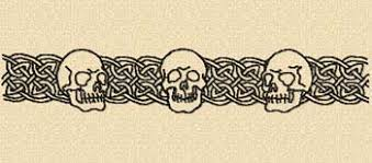tattoo tattoo and tribal style tattoo skull border