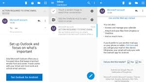 microsoft has been sending outlook ads users android u0027s