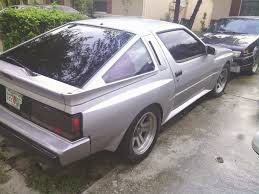 1988 mitsubishi starion daily turismo 7k a pair of starion crossed turbos 1989