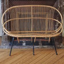 canape rotin graines de broc jouets déco et mobilier vintage canapé 2 places