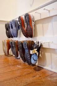 Garage Shoe Storage Bench Best 25 Garage Shoe Shelves Ideas On Pinterest Garage Shoe Rack