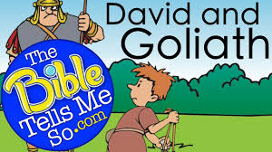 the bible tells me so david and goliath bible story youtube