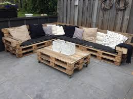 Patio Made Out Of Pallets by Lounge Set With Repurposed Euro Pallets Euro Pallets Lounges
