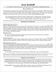 Cnc Operator Job Description For Resume by 2017 Cnc Machinist Resume Manufacturing Resume Template 26 Free
