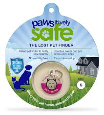 amazon com platinum pets pawsitively safe pet finder dog tag and
