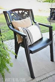 How To Paint An Adirondack Chair How To Paint Plastic Furniture U0026 A Makeover Liz Marie Blog