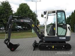 used terex tc25 mini excavators u003c 7t mini diggers for sale year