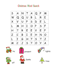 christmas word search for children u2013 festival collections