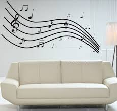 for landre u0027s music themed bedroom buy giant music wall graphic
