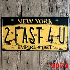 vintage home decor nyc 30x15cm new york vintage home decor tin sign for arto store wall