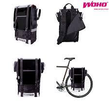 bike waterproofs aliexpress com buy woho ninja bicycle rack bag mountain bike
