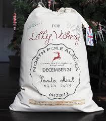 personalised santa sack postmark design by lovehart
