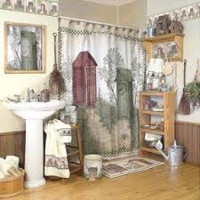 Country Shower Curtain Outhouses Shower Curtain Foter