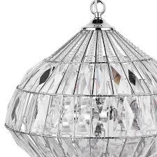 buy john lewis arabella teardrop crystal ceiling light clear