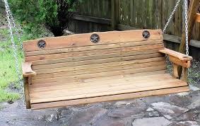 cedar porch swing plans home design ideas