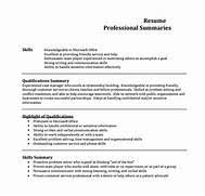resume samples professional summary professional summary for resume examples 61 images career