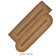Jute Braided Rugs Country Primitive Braided Rugs Jute Cotton Ultra Durable Rag