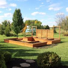 Raised Garden Bed With Bench Seating Kreg Tool Company