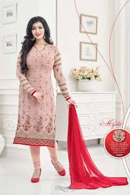 ayesha takia peach color silk party wear salwar kameez