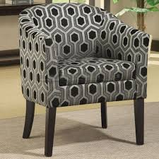 Barrel Accent Chair Charcoal Hexagon Accent Chair 900435