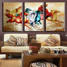 Horse Decorations For Home by Online Get Cheap Horse 3 Piece Wall Aliexpress Com Alibaba Group
