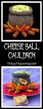 halloween cauldrons cheese ball cauldron halloween themed party appetizers