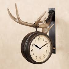 Deer Decor For Home by Appealing Deer Wall Clock 124 John Deere Neon Wall Clock Deer