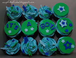 a cup full of cake it u0027s a boy baby shower cupcakes