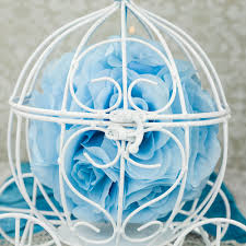 Cinderella Wire Carriage Centerpieces by 11 5