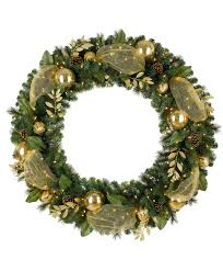 Artificial Christmas Wreaths To Be Decorated by Golden Treasures Artificial Christmas Wreath Tree Classics