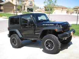 jeep wrangler 2 door hardtop black 2door jeep wranglers 35s with 4 inch lift pics of 35 tires on 4