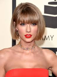 latest bob cut hairstyle taylor swift just debuted a totally new haircut at the grammys