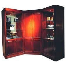 Computer Hutch With Doors Cabinets Appealing Beautiful Solid Oak Computer Armoire With