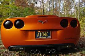 atomic orange corvette convertible for sale 2008 4lt corvette convertible atomic orange f55 npp nav 6k