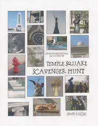 thanksgiving internet scavenger hunt temple square scavenger hunt