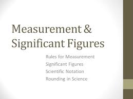 measurement u0026 significant figures ppt video online download