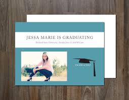 good looking graduation announcement templates