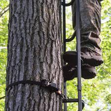 rivers edge big foot tree ladder with lifeline climb confidently