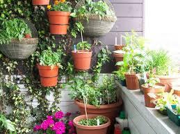 pots in gardens ideas home decor patio garden ideas garden with various plants are