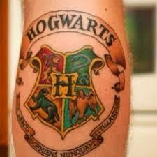 funny hogwarts harry potter color movie tattoo uncategorized