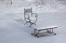 free images table snow winter white sitting weather snowy