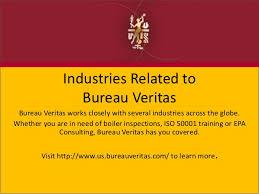 us bureau veritas industries related to bureau veritas