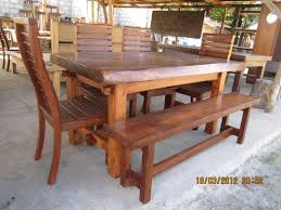Acacia Wood Dining Table 6 Sitters Dinning Set Acacia Wood 25 000 House Pinterest