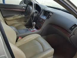 2007 Infiniti G35 Interior Salvage Title 2007 Infiniti G35 Sedan 4d 3 5l 6 For Sale In