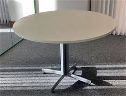 Circular Meeting Table Desk City Used Meeting Tables
