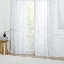Curtains Floral Window Curtains U0026 Drapes West Elm