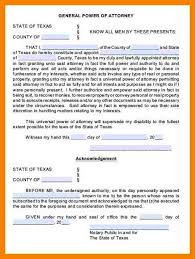 6 medical power of attorney texas coaching resume