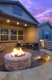 fire pits large lot w mature trees and newly built stone fire