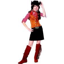 party city halloween costomes amazon com kids western cowgirl girls halloween costume l