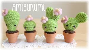 diy amigurumi crochet kawaii cactus youtube